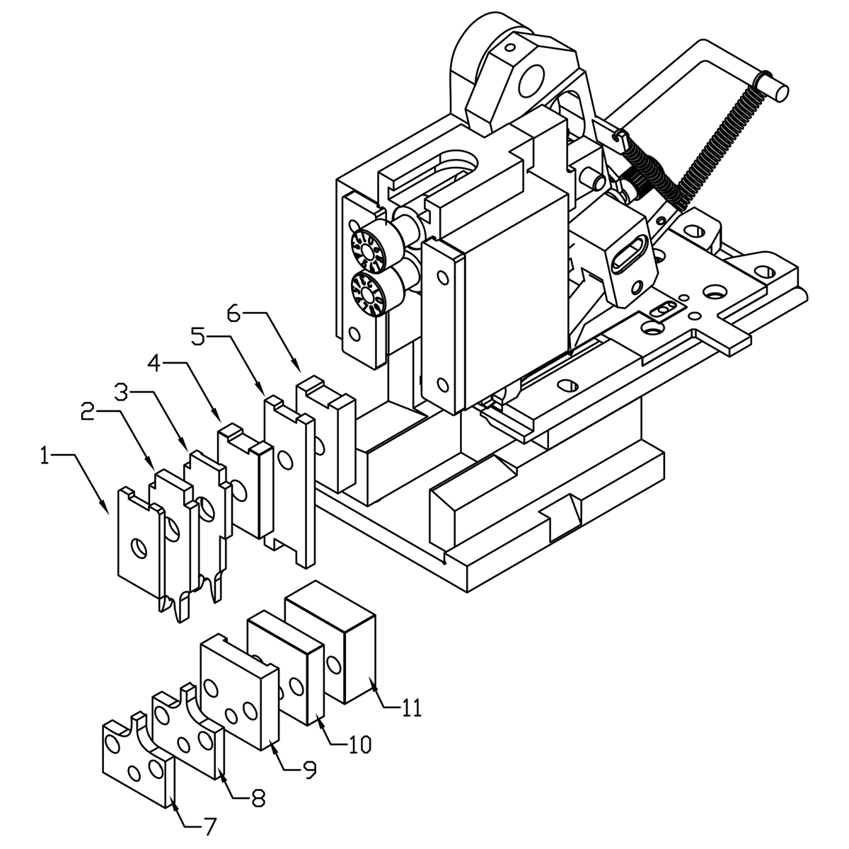 Crimping Tool Diagram also 2152 CT Coax Cable Crimp Tool RG174 and 8281 together with Snap On Wire Harness additionally Paladin Tools Crimpall Series 4475 also Ratchet Crimper for Circular Contacts. on open barrel crimp tool